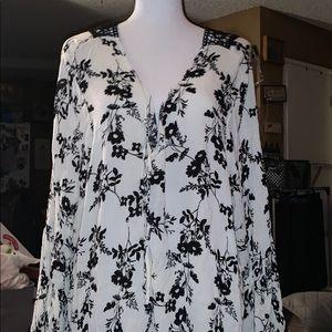 Torrid blouse long sleeve